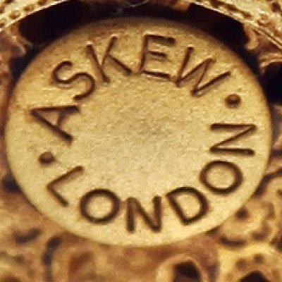 Askew London клеймо фарфор