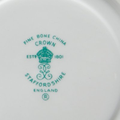 Crown Staffordshire клеймо фарфор